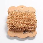 Iron Rolo Chains, Belcher Chain, Soldered, Golden, 4mm