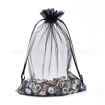 Organza Gift Bags with Drawstring OP-R016-15x20cm-18-1