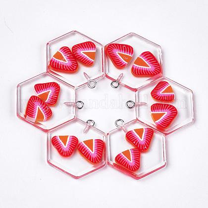 Colgantes de la resinaCRES-S359-05B-1