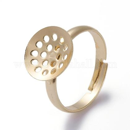 Componentes de anillo de latón ajustableKK-G379-03G-1