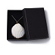 Pendentifs coquille colliersNJEW-JN02388-02-5