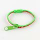 Plastic Zipper BraceletsBJEW-A060-M3-3