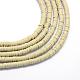 Perlas de arcilla de polímero hechas a mano ambientalesCLAY-R067-5.0mm-02-1