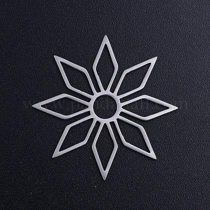 201ステンレススチール製フィリグリー透かしコネクターSTAS-T049-T672-1-1
