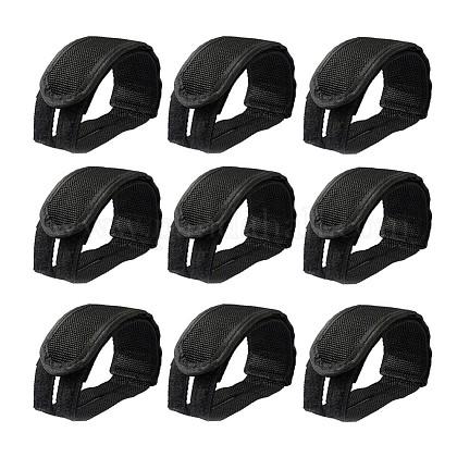 Correas de pie de bicicleta de tela de nylonAJEW-TAC0014-01-1