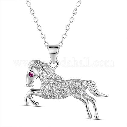 SHEGRACE® 925 Sterling Silver Pendant NecklacesJN659A-1