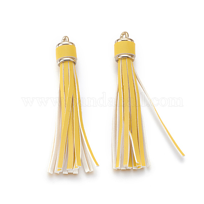 Multifunction Imitation Leather Tassels Mobile Straps MOBA-L002-12-1