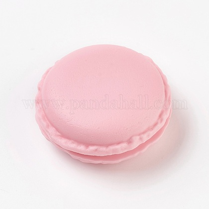 Portable Candy Color Mini Cute Macarons Jewelry Ring/Necklace Carrying CaseCON-WH0038-A04-1