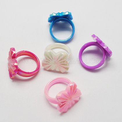 Acrylic Rings for Kids RJEW-S618-4-1