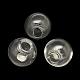 Round Handmade Blown Glass Globe BeadsX-BLOW-R002-12mm-1
