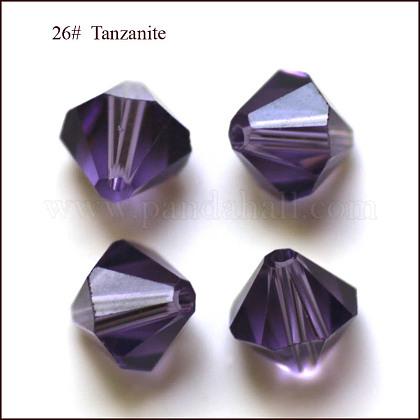 Abalorios de cristal austriaco de imitaciónSWAR-F022-3x3mm-539-1