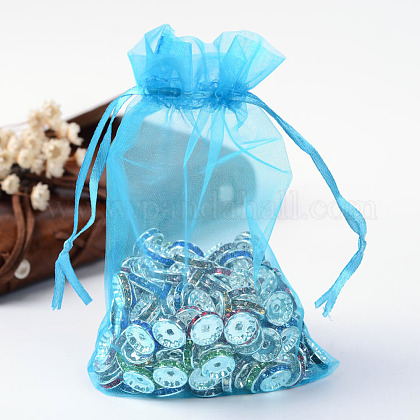 Organza Gift Bags with Drawstring OP-R016-10x15cm-17-1