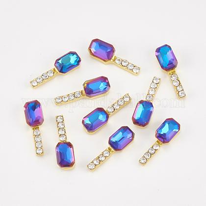 Cabochons Diamante de imitación de la aleaciónMRMJ-T015-17B-1