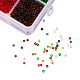 Mixed 12/0 Round Glass Seed BeadsSEED-PH0006-2mm-02-3