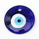 Hechos a mano de cristal de murano el mal de ojo colgantes grandesLAMP-R134-60mm-01-1