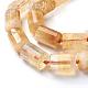 Natural Citrine Beads StrandsG-J385-B07-12x16mm-3