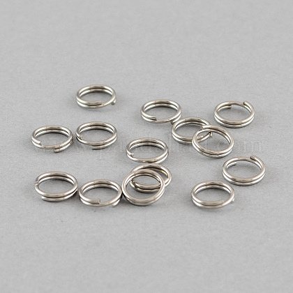 Anneaux doubles en 304 acier inoxydableSTAS-Q186-01-6mm-1