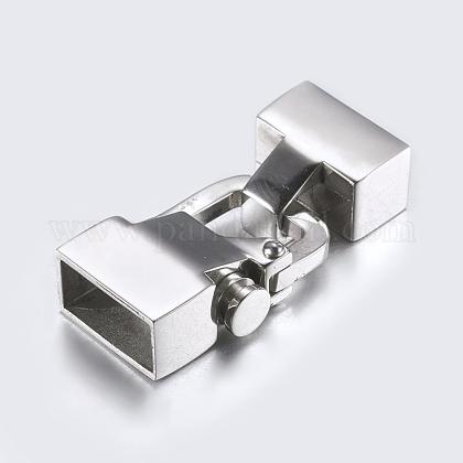 304のステンレス製スナップロックの留め金STAS-P180-21P-1