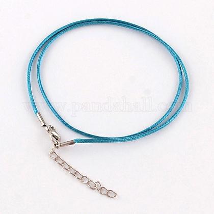 Algodón encerado el collar del cordónMAK-S032-1.5mm-130-1