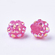 AB-Color Resin Rhinestone Beads RESI-S315-8x10-09-2