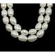 Grado de hebras de perlas de agua dulce cultivadas naturalesA23WM012-2