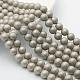 Perlas de concha redonda perlas esmeriladas hebrasBSHE-F013-06A-10mm-1