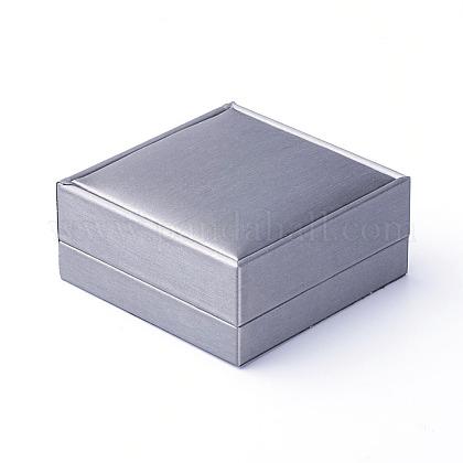 Pu pulseras de cuero / cajas de brazaleteOBOX-G010-02B-1