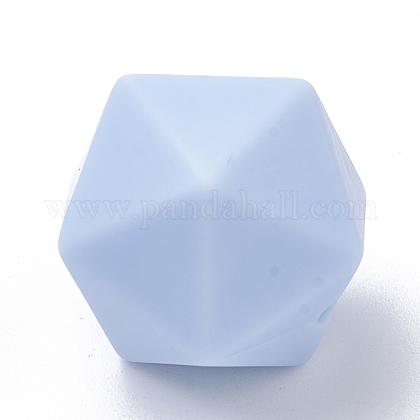 Abalorios de silicona ambiental de grado alimenticioSIL-T048-14mm-57-1