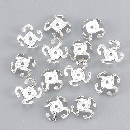 Plated Iron Bead CapsIFIN-S696-51S-1