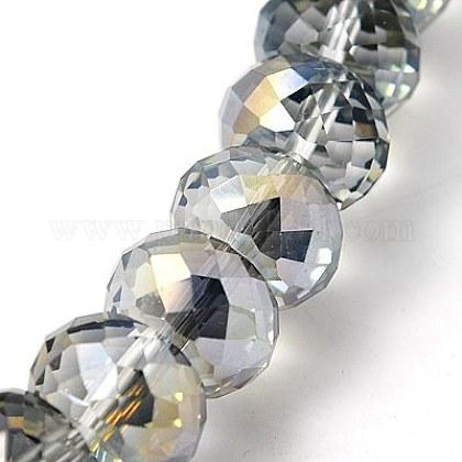Abalorios de vidrio electrochapadoEGLA-E005-11-1