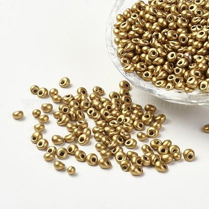 Granos de semillas de vidrio opacoSEED-R032-A15-1