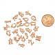 Light Gold Plated Alloy Rhinestone Charms ALRI-T008-01G-3