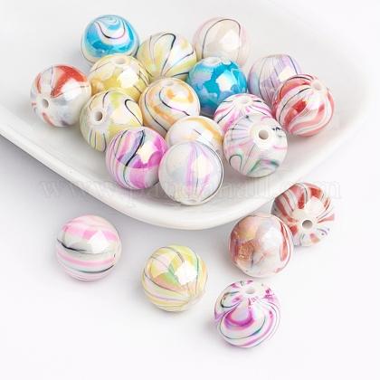 Perles acryliques d'effilageX-DACR-0163-M-1