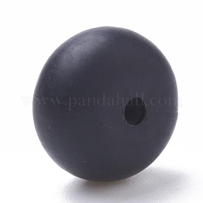 Abalorios de silicona ambiental de grado alimenticioSIL-Q001B-10-1