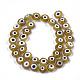 Chapelets de perles vernissées manuellesLAMP-S191-02C-07-1