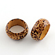 Wood Thumb Rings RJEW-R122-04-1