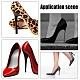 Pin de puntas de repuesto de zapatos de tacón alto de hierroFIND-WH0057-03-7