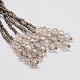 Glass Bead Lariat NecklacesX-NJEW-O059-04K-2