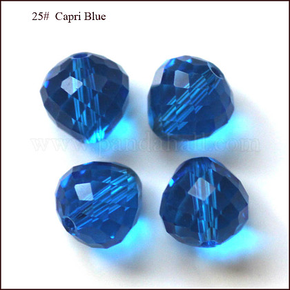 Imitation Austrian Crystal Beads SWAR-F067-8mm-25-1