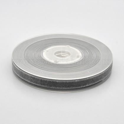 Ruban de velours en polyester pour emballage de cadeaux et décoration de festivalSRIB-M001-10mm-017-1