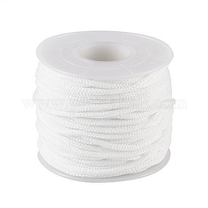Banda elástica de nylon redonda para bucle de oreja con tapa bucalOCOR-TA0001-07-50m-1