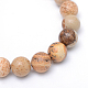Round Natural Picture Jasper Bead Strands G-R345-6mm-19-2