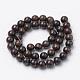 Natural Bronzite Beads StrandsG-S272-01-4mm-2