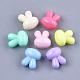 Perle acriliche opache coniglietto tinta unitaX-MACR-T030-14-1
