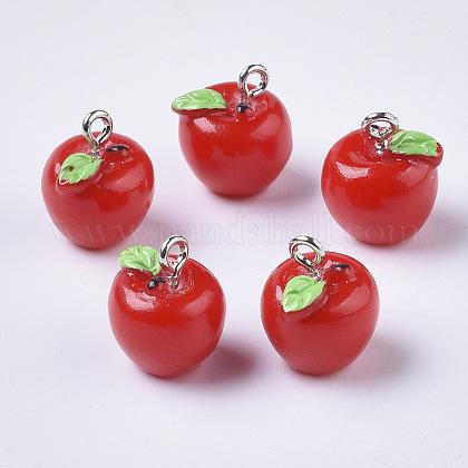リンゴ樹脂チャームX-RESI-R184-04A-1