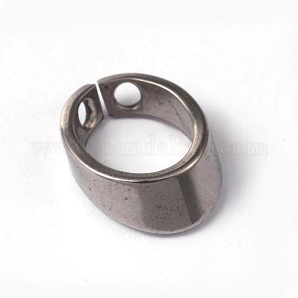 Bélières pendentif en 304 acier inoxydableSTAS-O092-26B-1