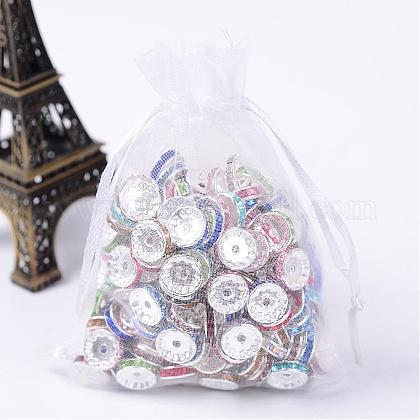 Organza Gift Bags with DrawstringOP-R016-9x12cm-04-1