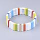 Pulseras elásticas de azulejosBJEW-Q697-04-2
