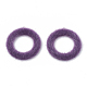 Colgantes de piel sintética de visón cubiertosX-WOVE-N009-10F-1