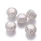 Perlas naturales abalorios de agua dulce cultivadasPEAR-F015-25-1